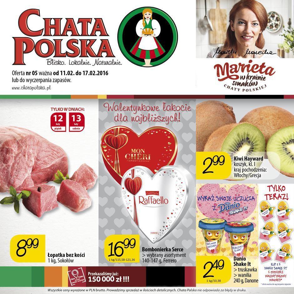 Gazetka promocyjna Chata Polska do 17/02/2016 str.0