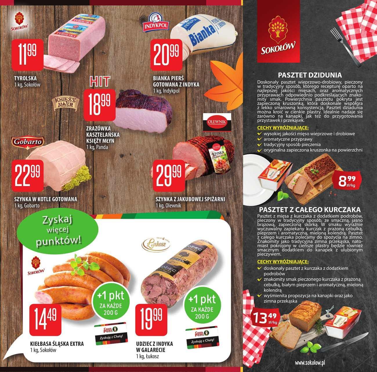 Gazetka promocyjna Chata Polska do 26/09/2018 str.1
