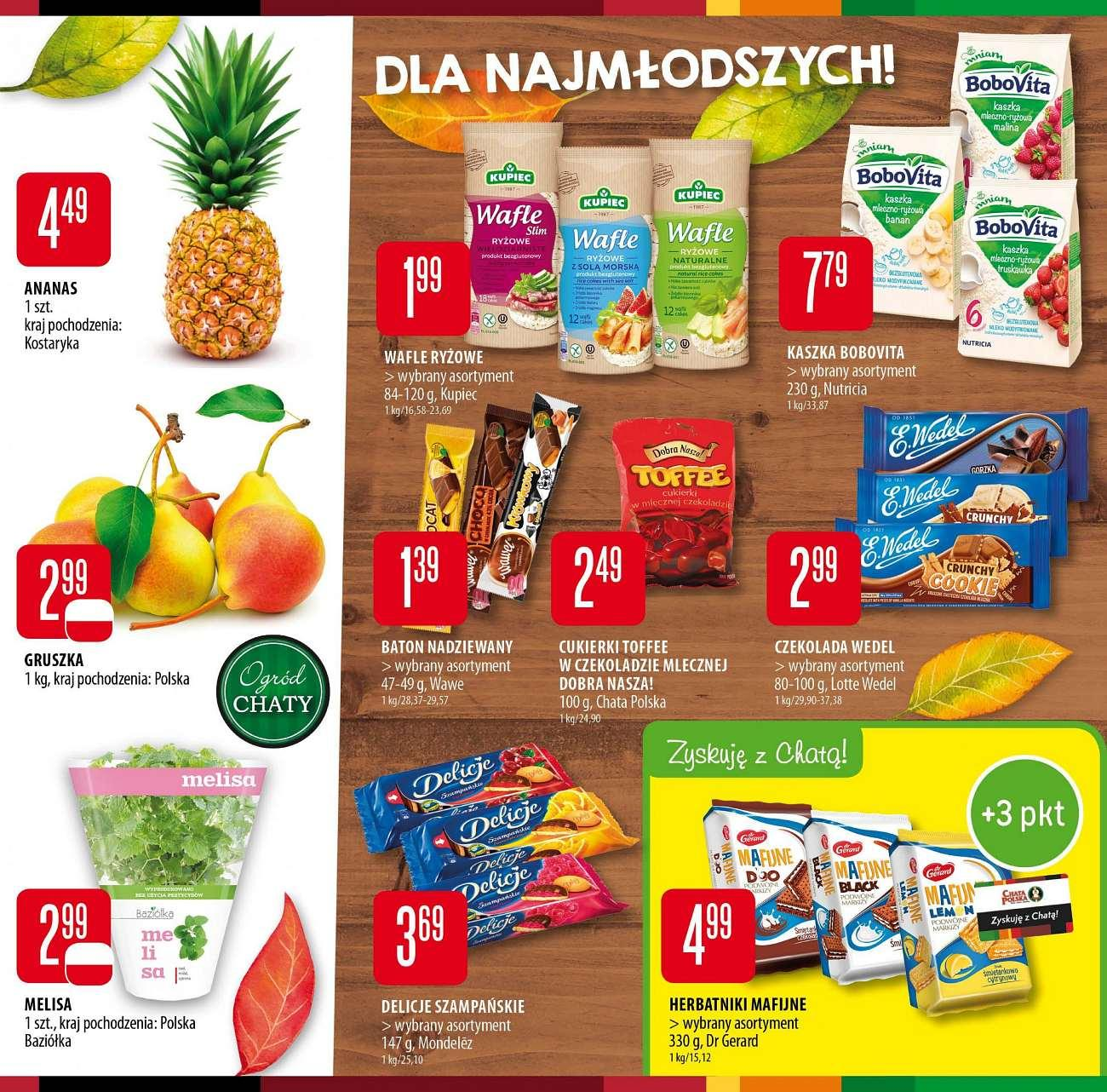 Gazetka promocyjna Chata Polska do 19/09/2018 str.4