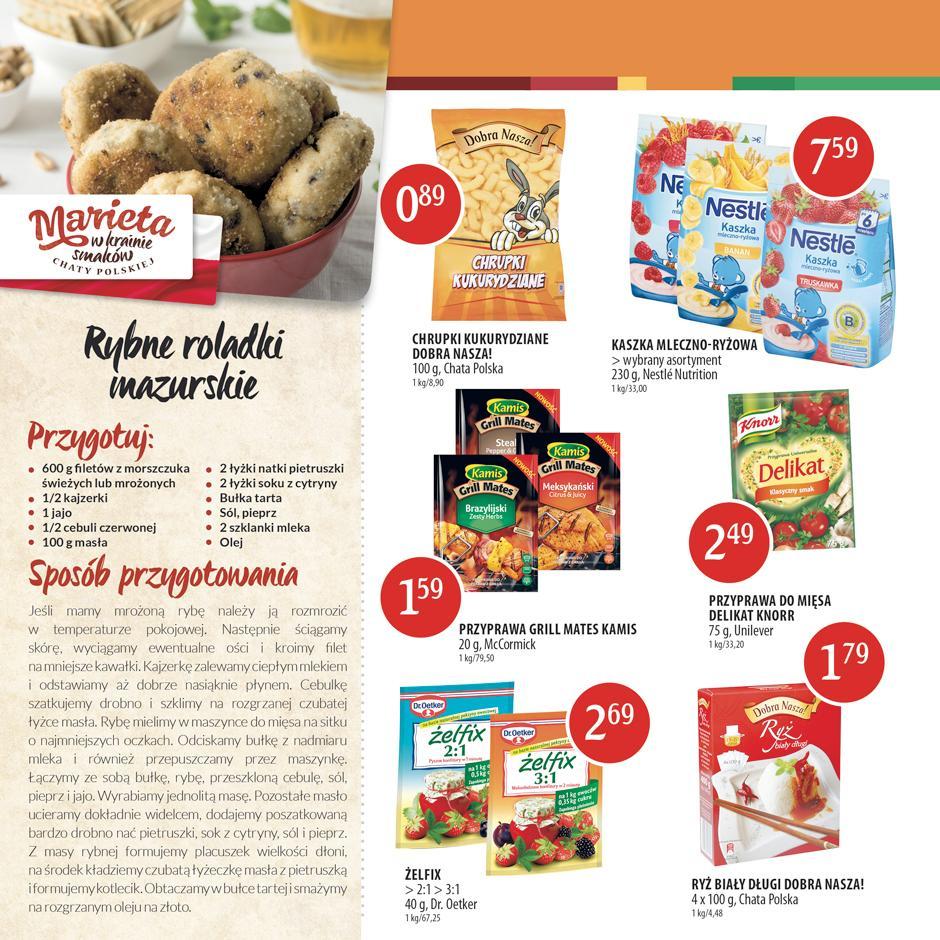 Gazetka promocyjna Chata Polska do 13/07/2016 str.5