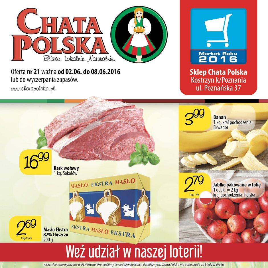 Gazetka promocyjna Chata Polska do 08/06/2016 str.0