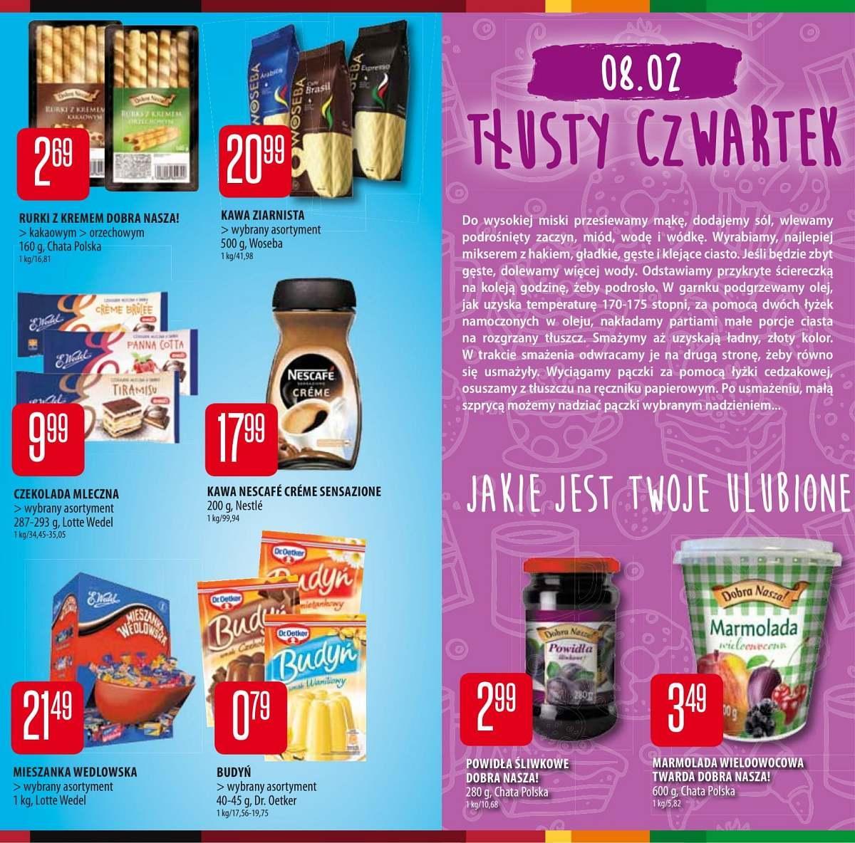Gazetka promocyjna Chata Polska do 07/02/2018 str.3