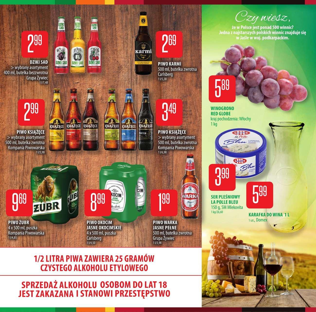 Gazetka promocyjna Chata Polska do 12/09/2018 str.6