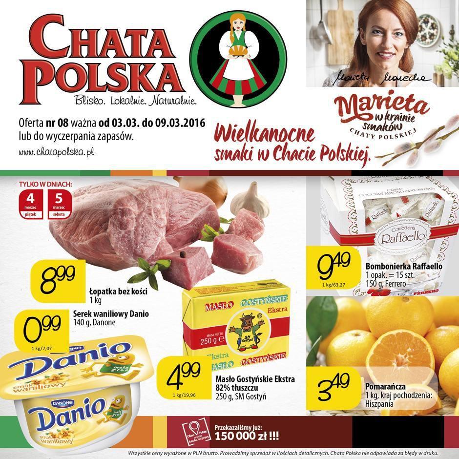 Gazetka promocyjna Chata Polska do 09/03/2016 str.0