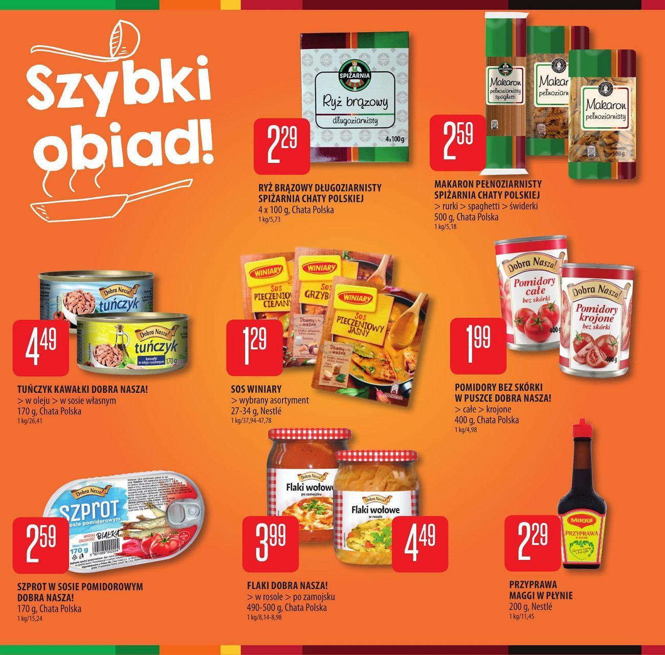 Gazetka promocyjna Chata Polska do 22/08/2018 str.4