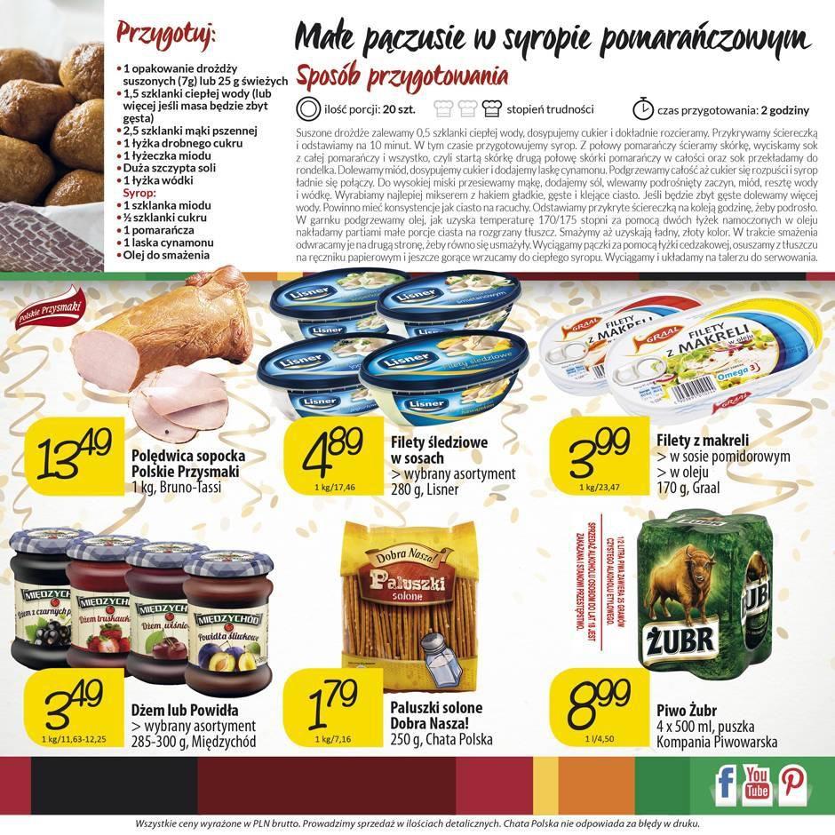 Gazetka promocyjna Chata Polska do 10/02/2016 str.3