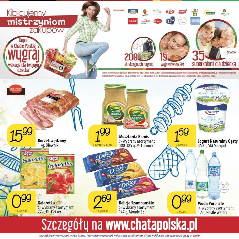 Gazetka promocyjna Chata Polska do 25/05/2016 str.7