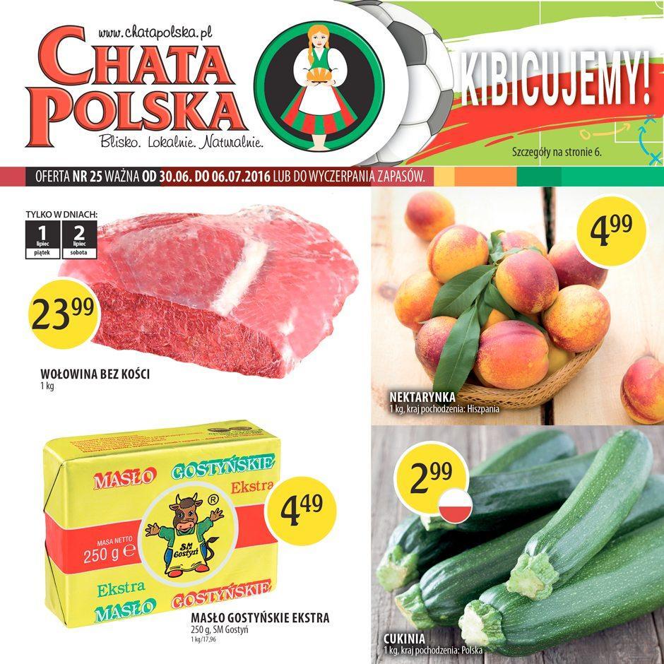 Gazetka promocyjna Chata Polska do 06/07/2016 str.0
