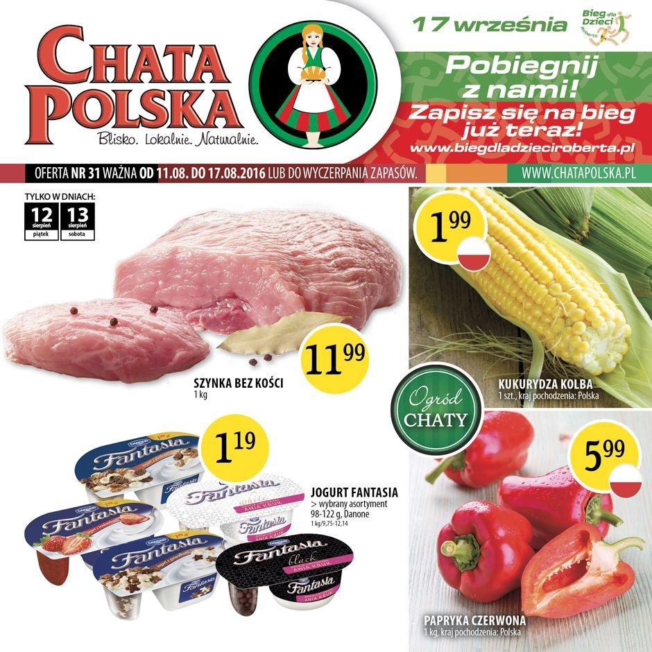 Gazetka promocyjna Chata Polska do 17/08/2016 str.0