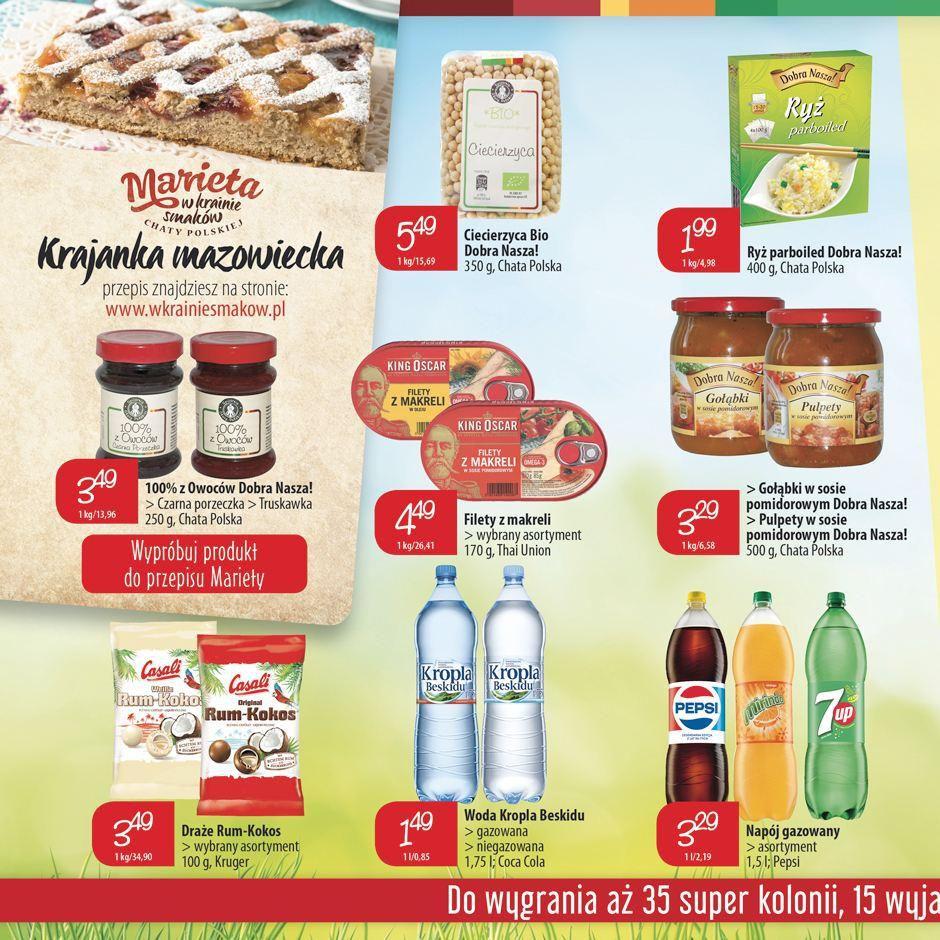 Gazetka promocyjna Chata Polska do 01/06/2016 str.5