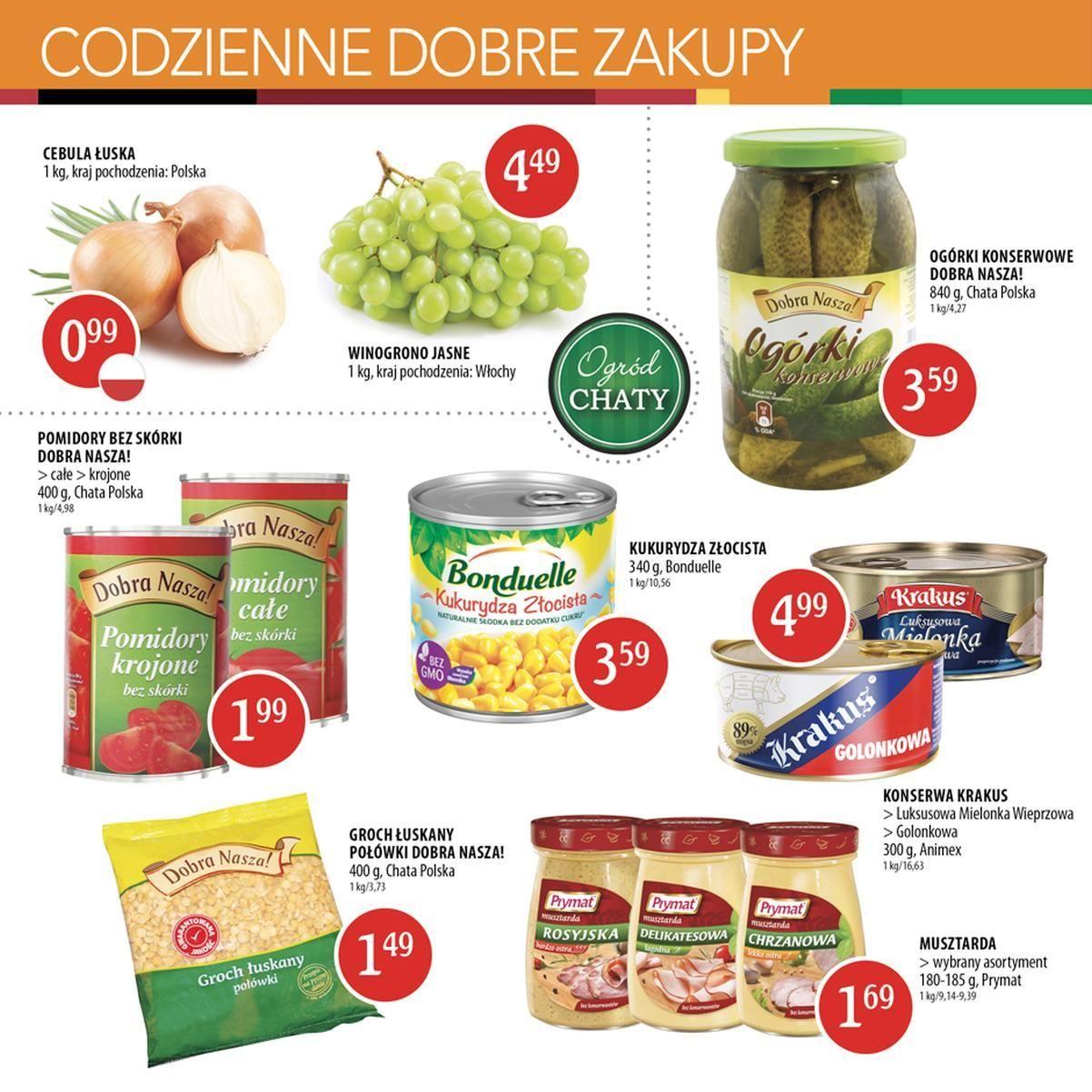 Gazetka promocyjna Chata Polska do 28/09/2016 str.3