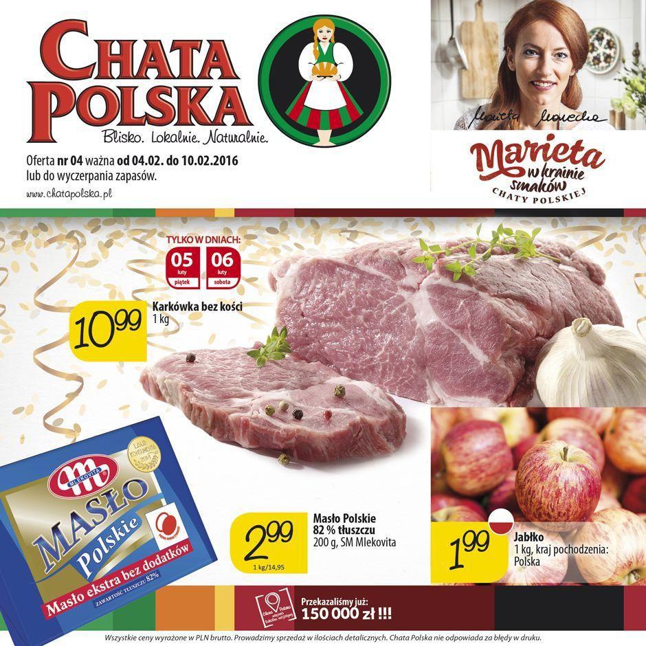 Gazetka promocyjna Chata Polska do 10/02/2016 str.0