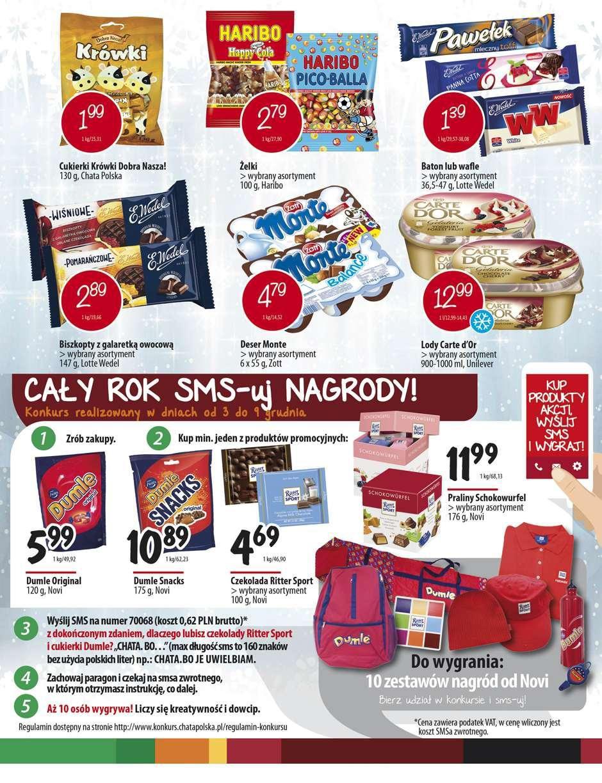 Gazetka promocyjna Chata Polska do 09/12/2015 str.6