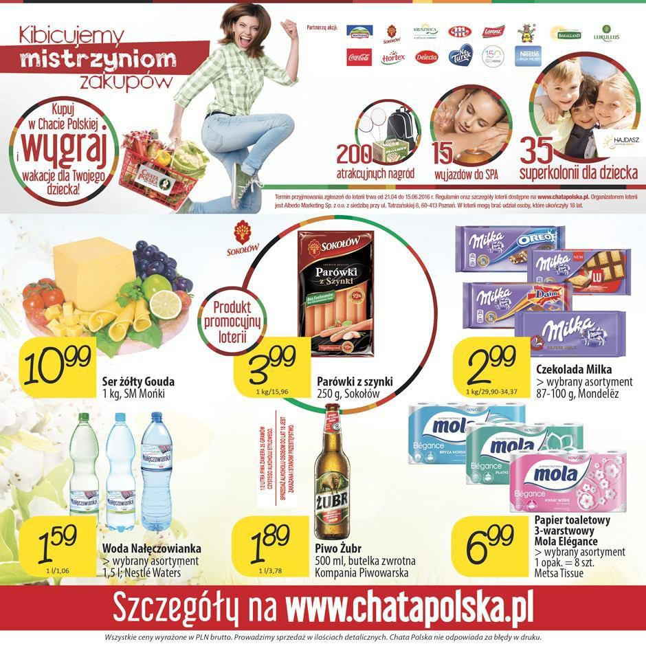 Gazetka promocyjna Chata Polska do 18/05/2016 str.7