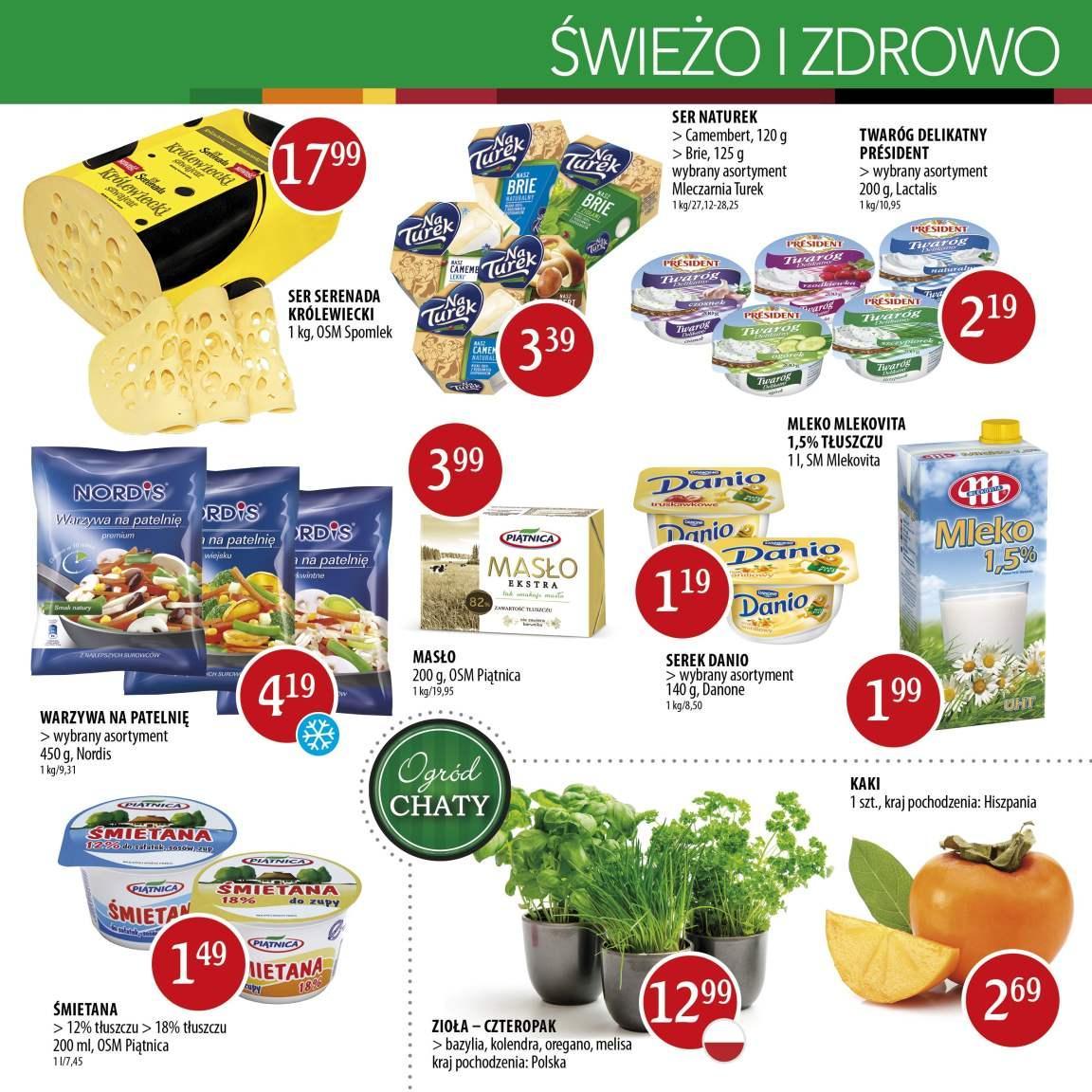Gazetka promocyjna Chata Polska do 19/10/2016 str.2