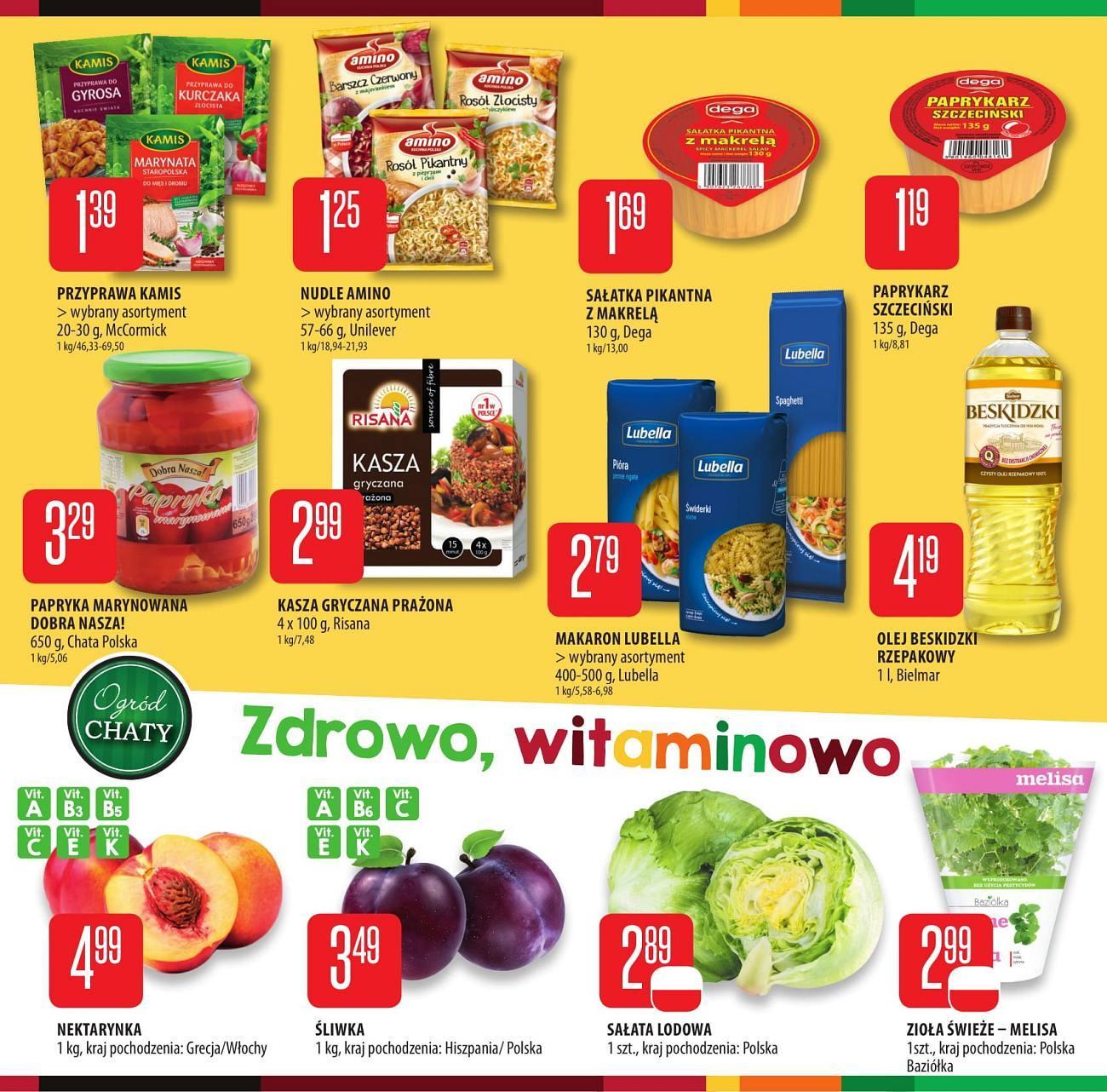 Gazetka promocyjna Chata Polska do 25/07/2018 str.3