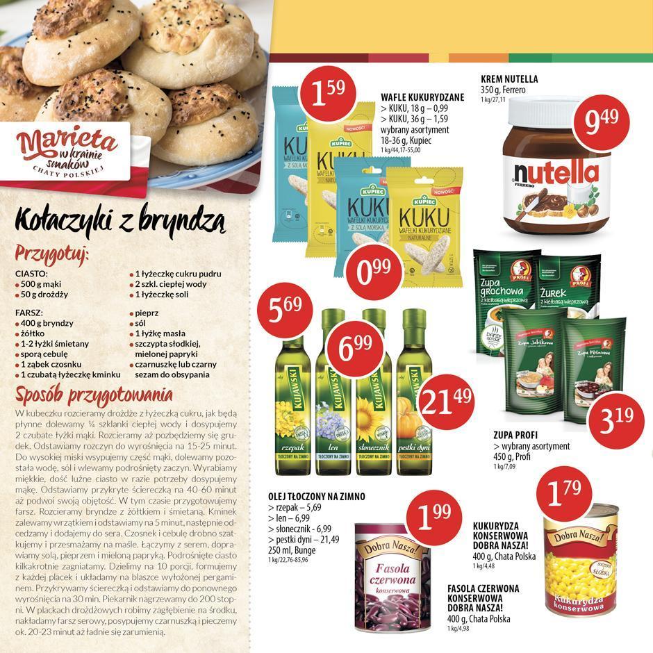 Gazetka promocyjna Chata Polska do 17/08/2016 str.3