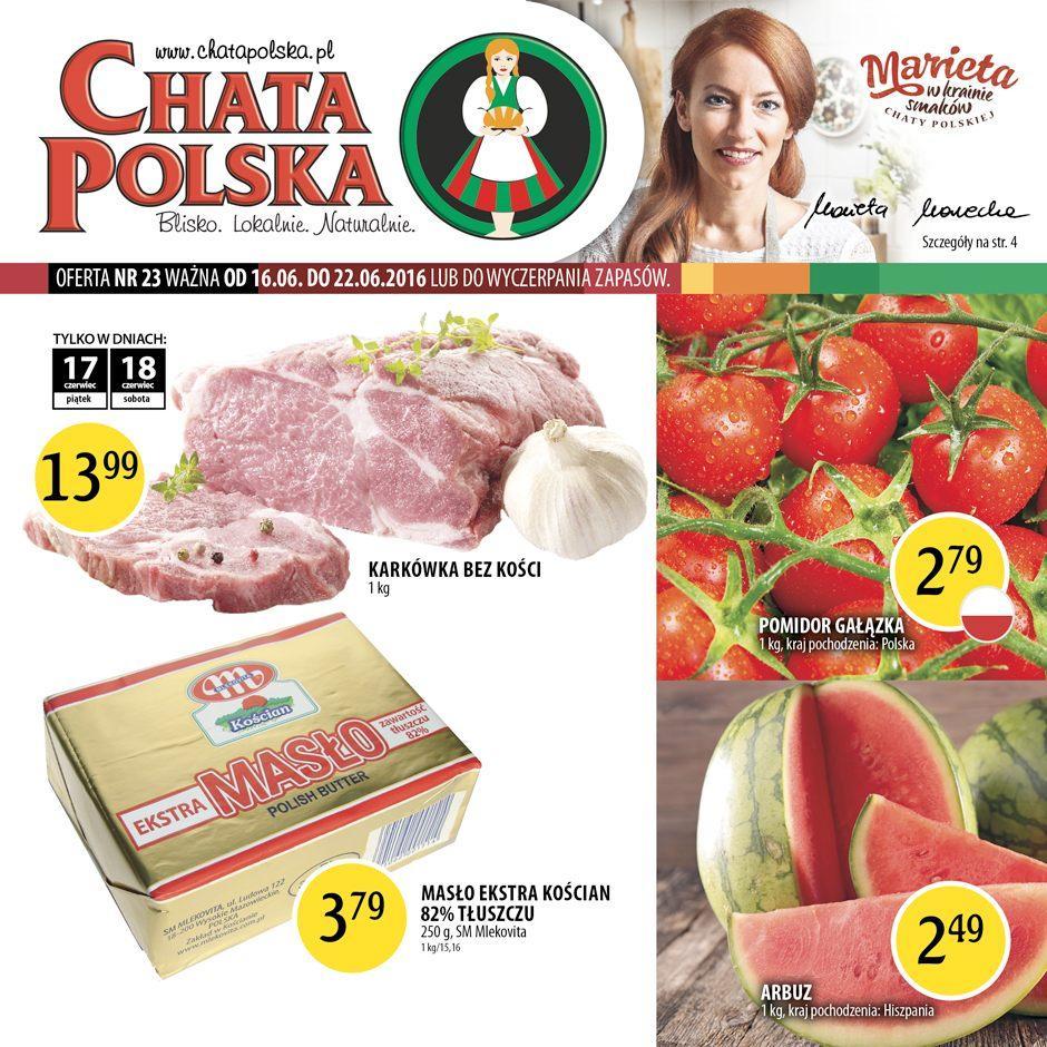 Gazetka promocyjna Chata Polska do 22/06/2016 str.0
