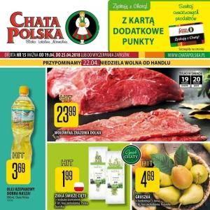 Chata Polska 19-25.04