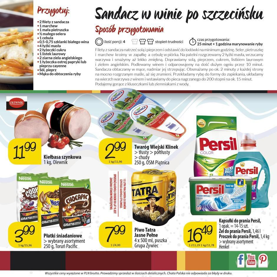 Gazetka promocyjna Chata Polska do 24/02/2016 str.3