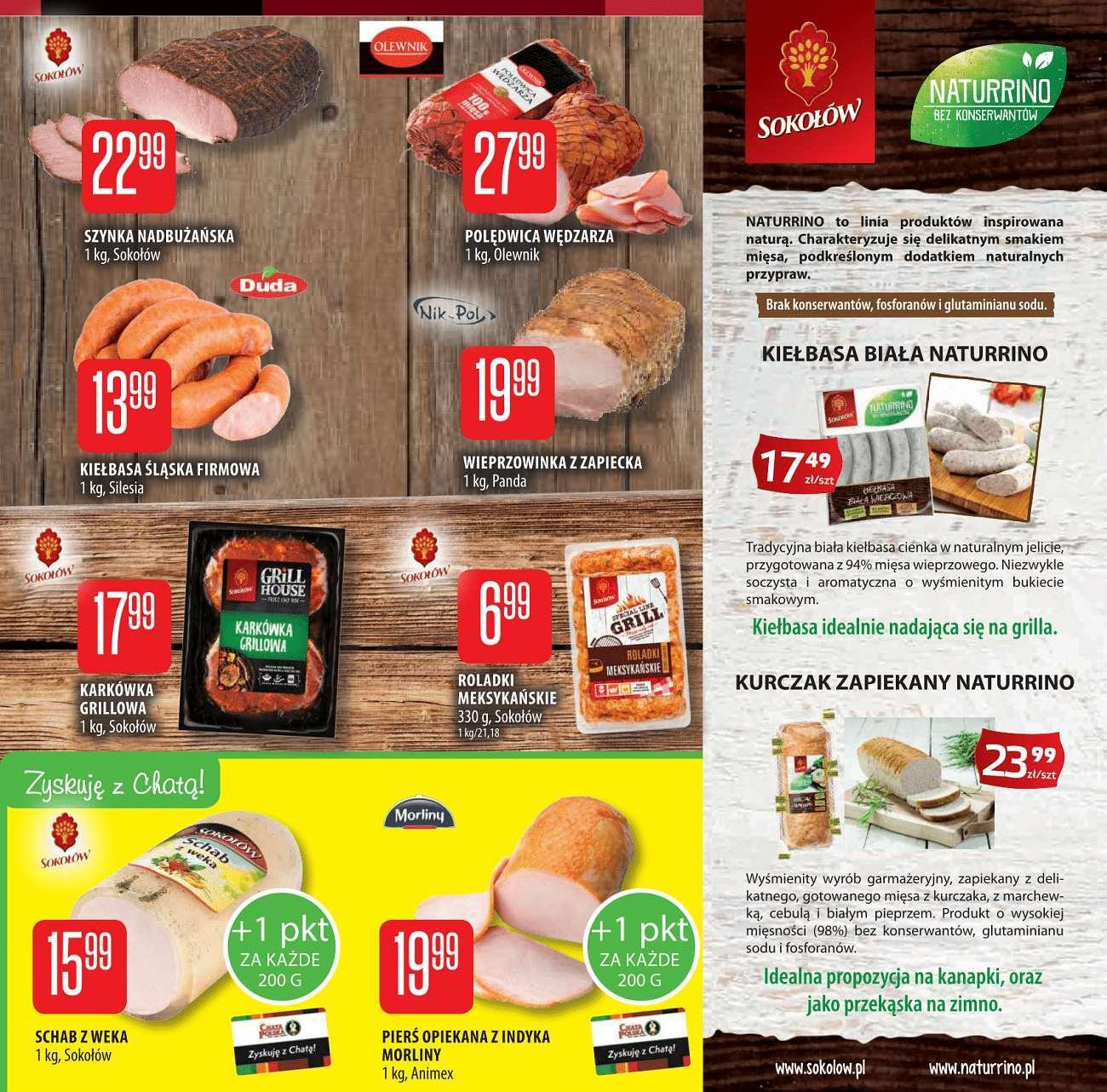 Gazetka promocyjna Chata Polska do 18/07/2018 str.2