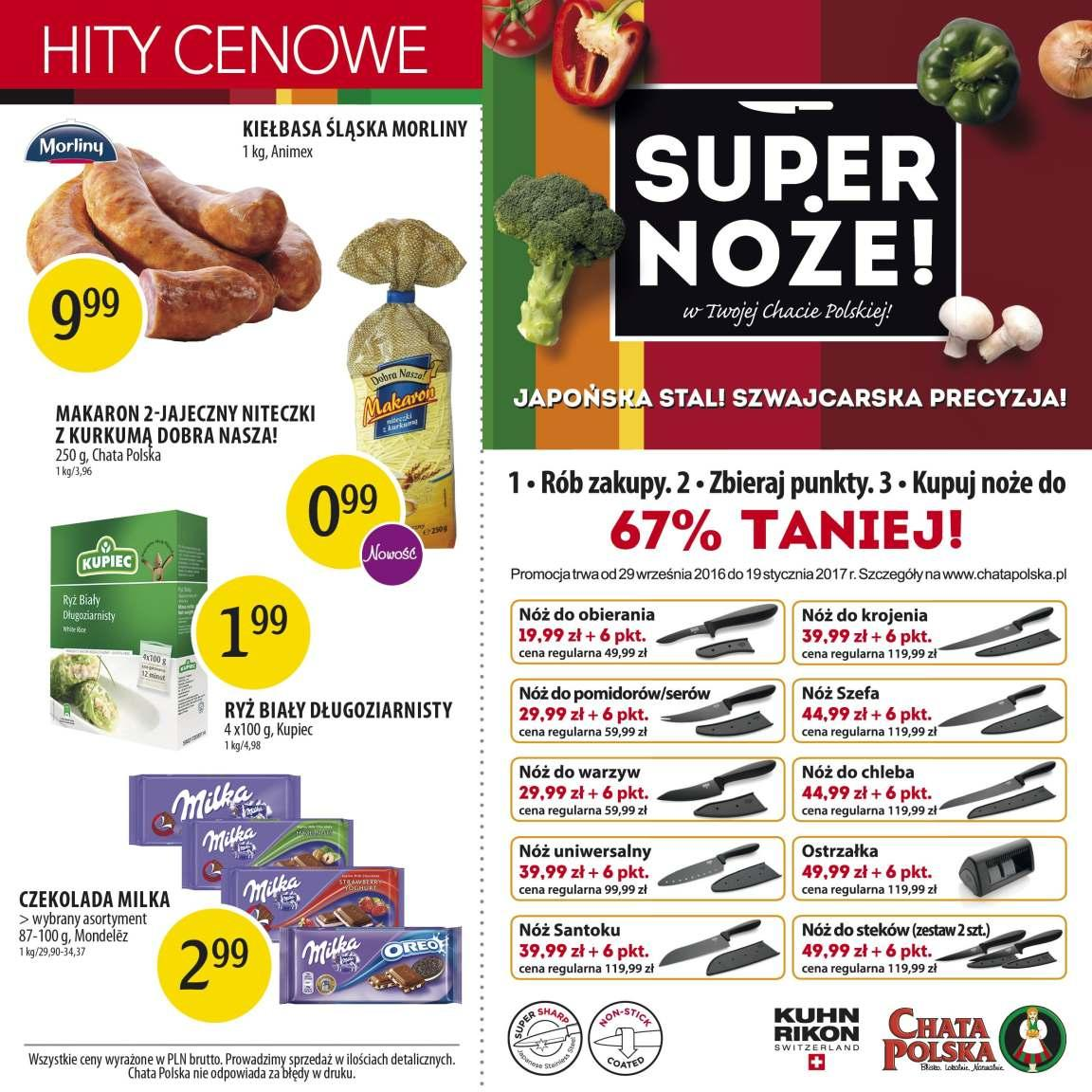 Gazetka promocyjna Chata Polska do 16/11/2016 str.7