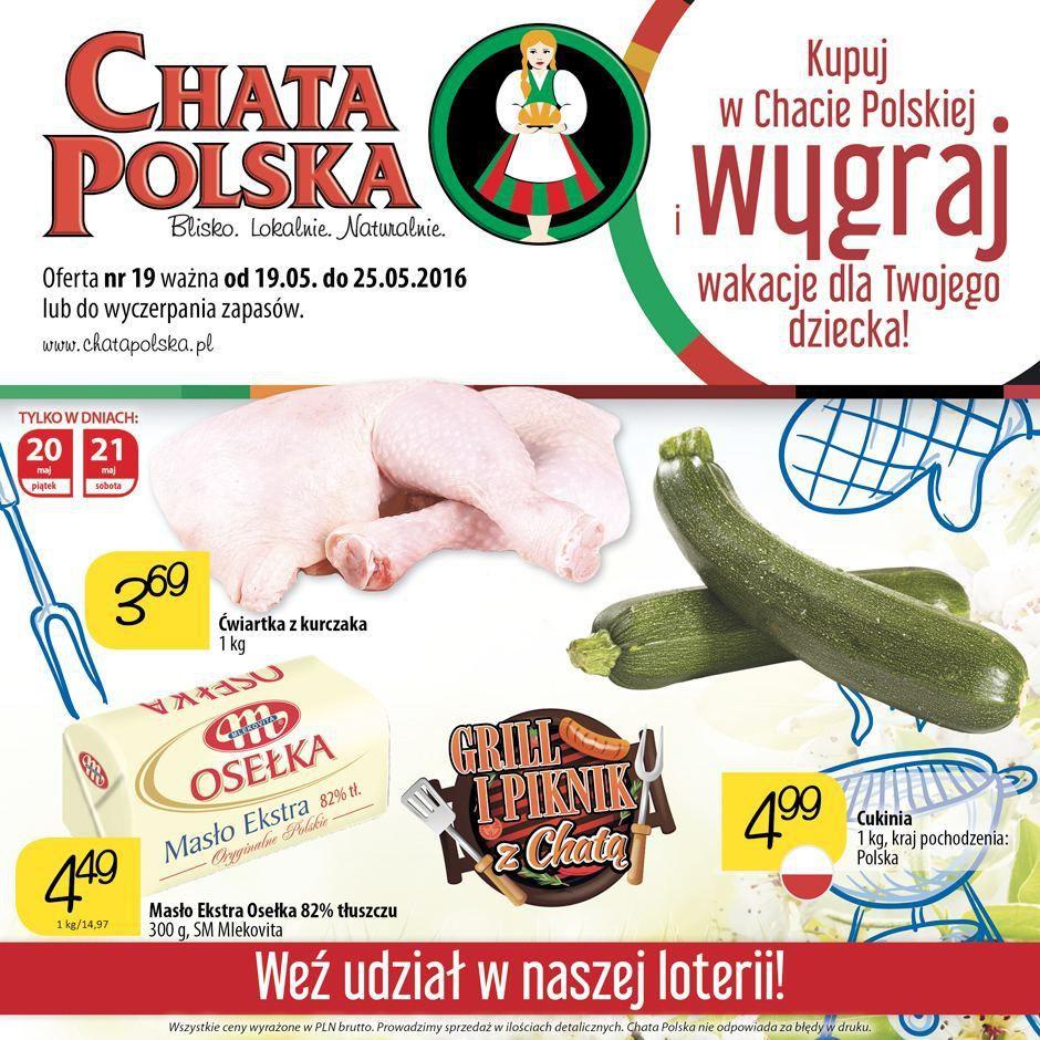 Gazetka promocyjna Chata Polska do 25/05/2016 str.0