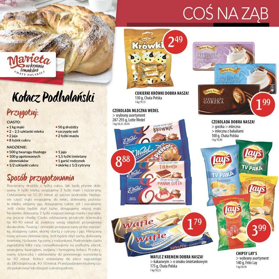 Gazetka promocyjna Chata Polska do 31/08/2016 str.4