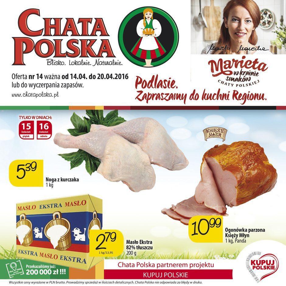 Gazetka promocyjna Chata Polska do 20/04/2016 str.0