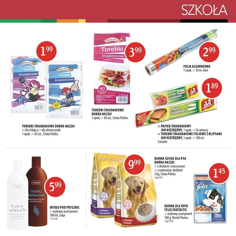 Gazetka promocyjna Chata Polska do 31/08/2016 str.6
