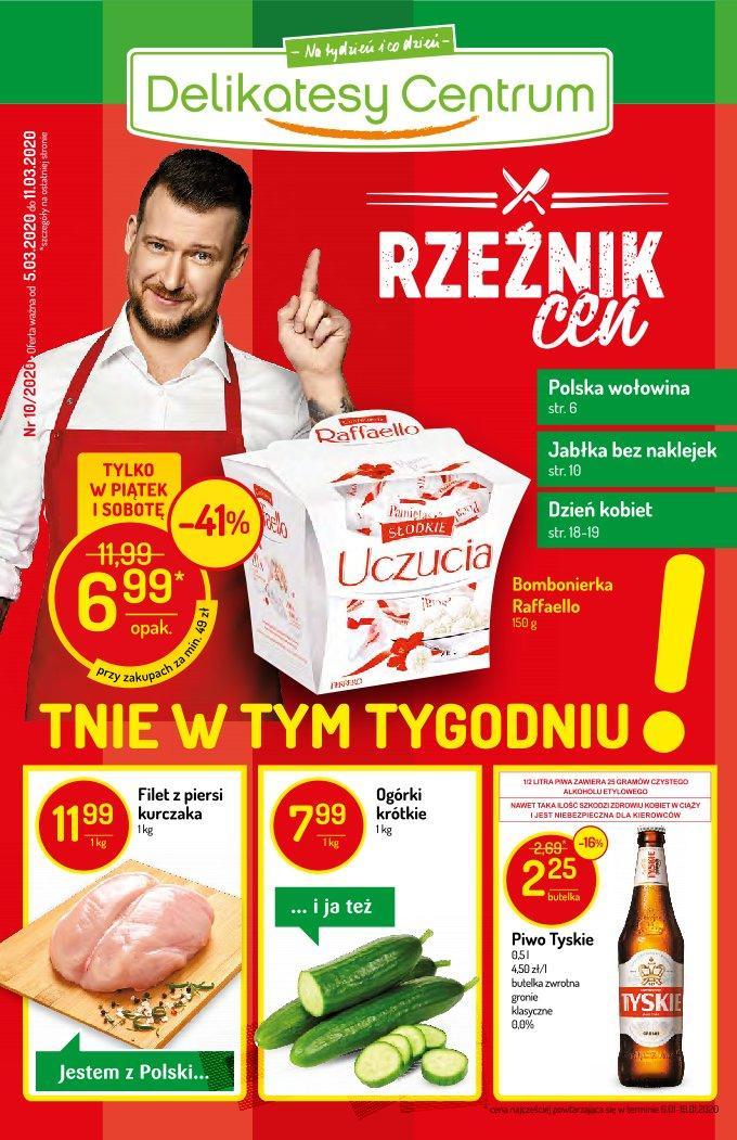 Gazetka promocyjna Delikatesy Centrum do 11/03/2020 str.1