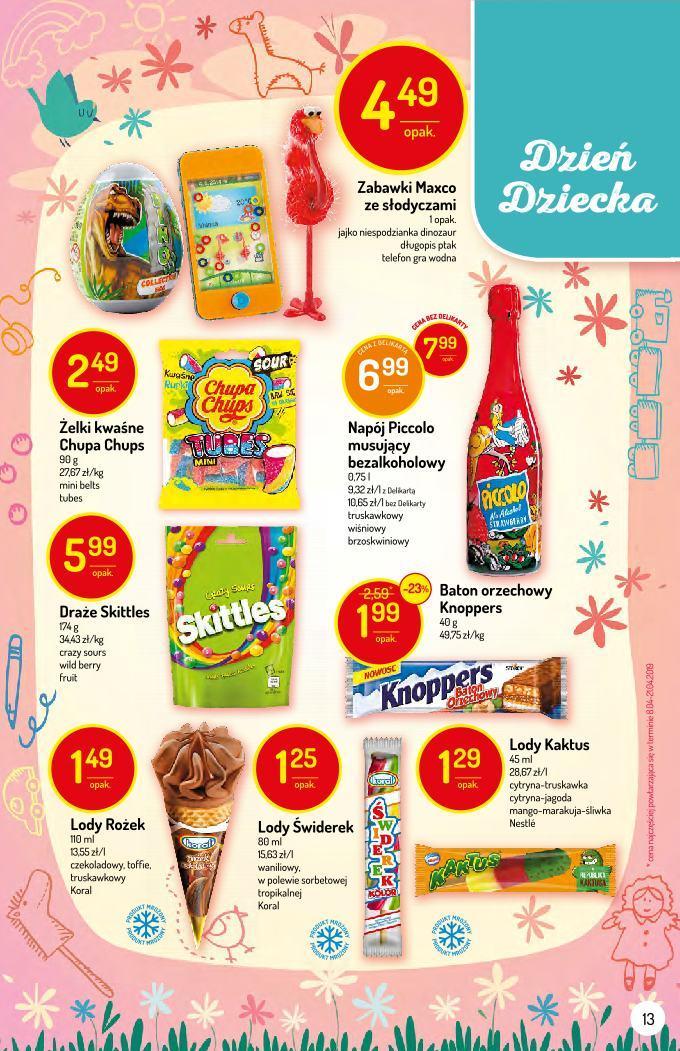 Gazetka promocyjna Delikatesy Centrum do 05/06/2019 str.13