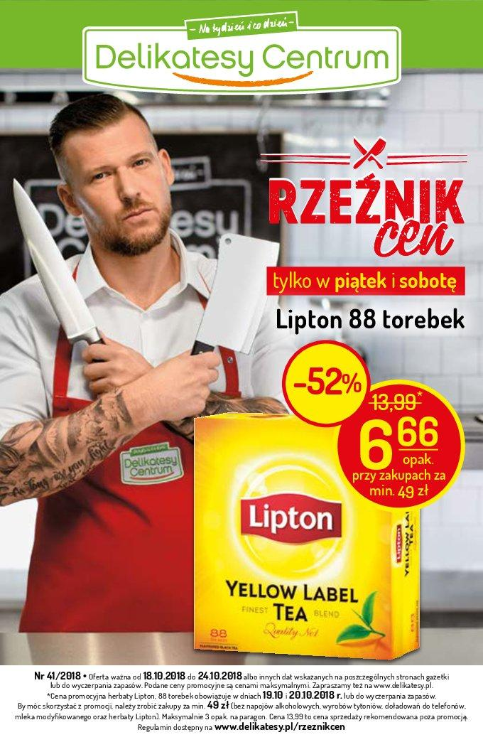 Gazetka promocyjna Delikatesy Centrum do 24/10/2018 str.0