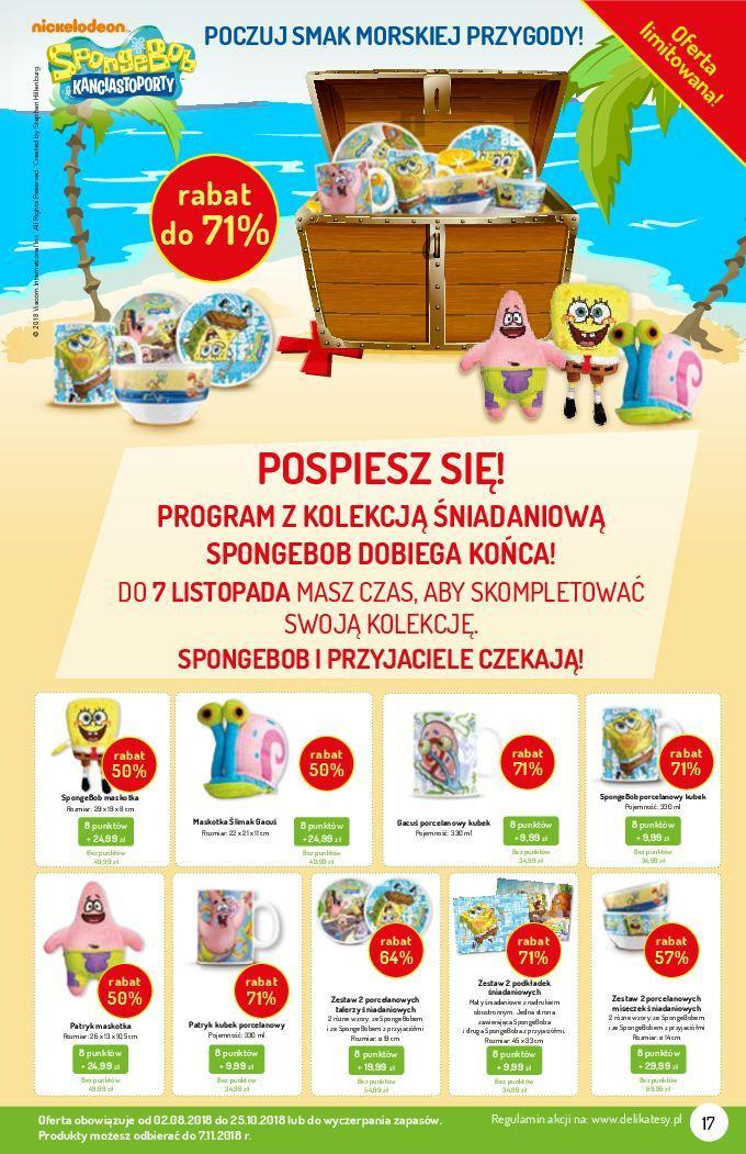 Gazetka promocyjna Delikatesy Centrum do 31/10/2018 str.16