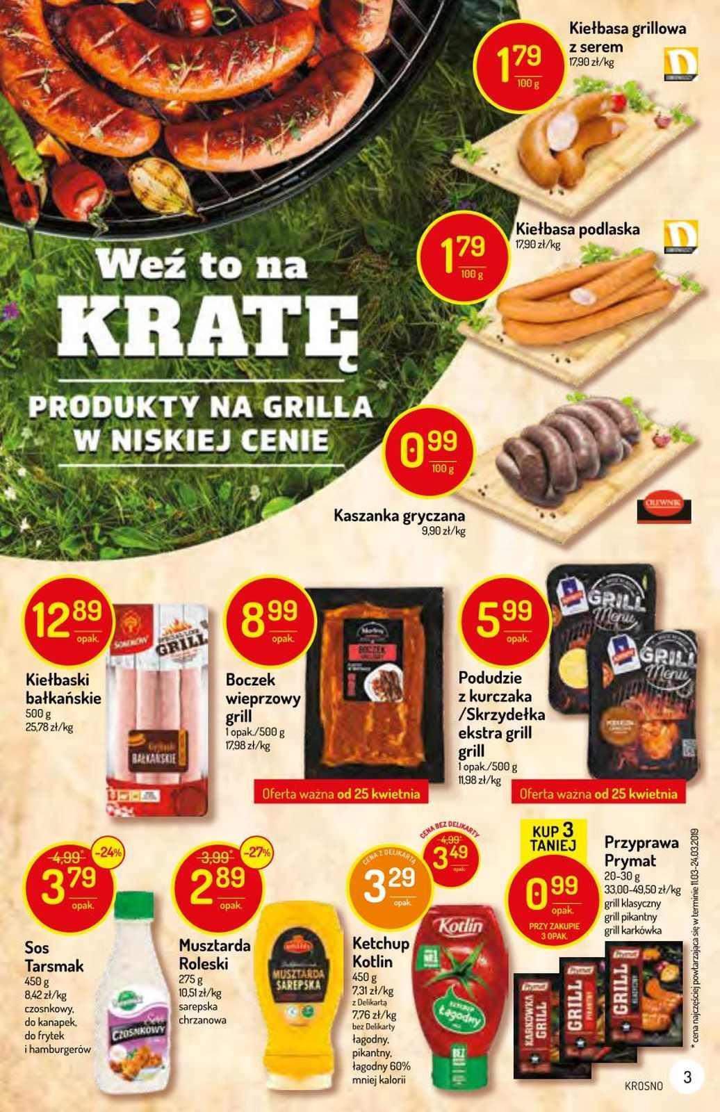 Gazetka promocyjna Delikatesy Centrum do 01/05/2019 str.2