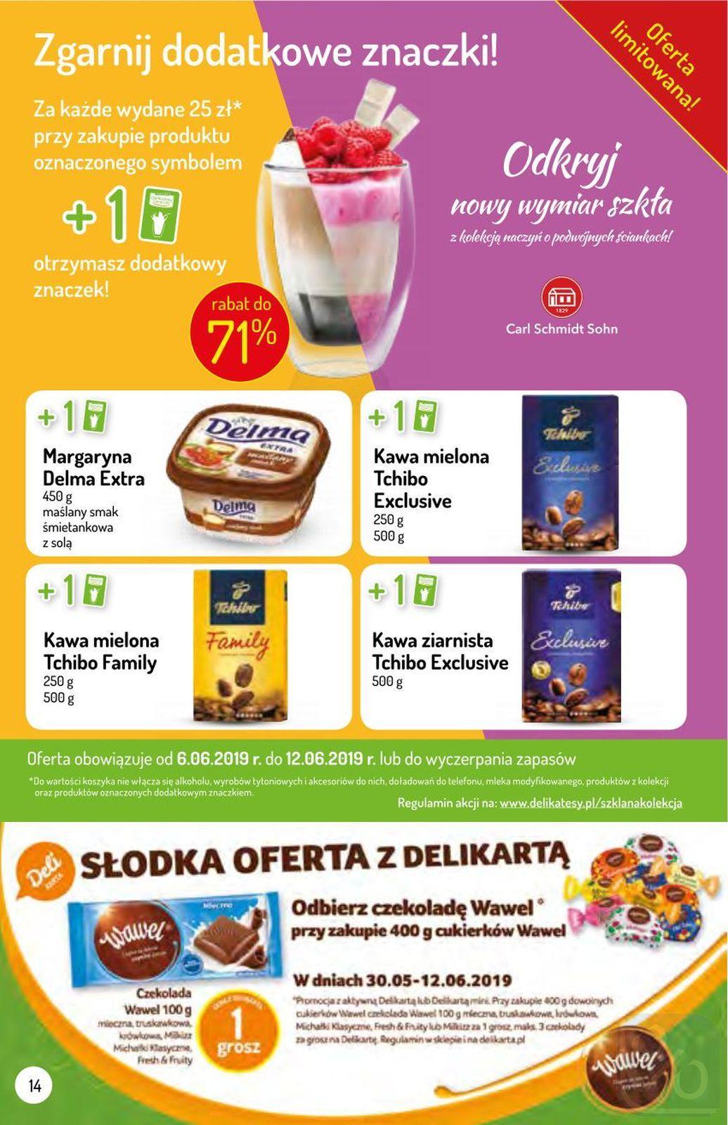Gazetka promocyjna Delikatesy Centrum do 12/06/2019 str.14