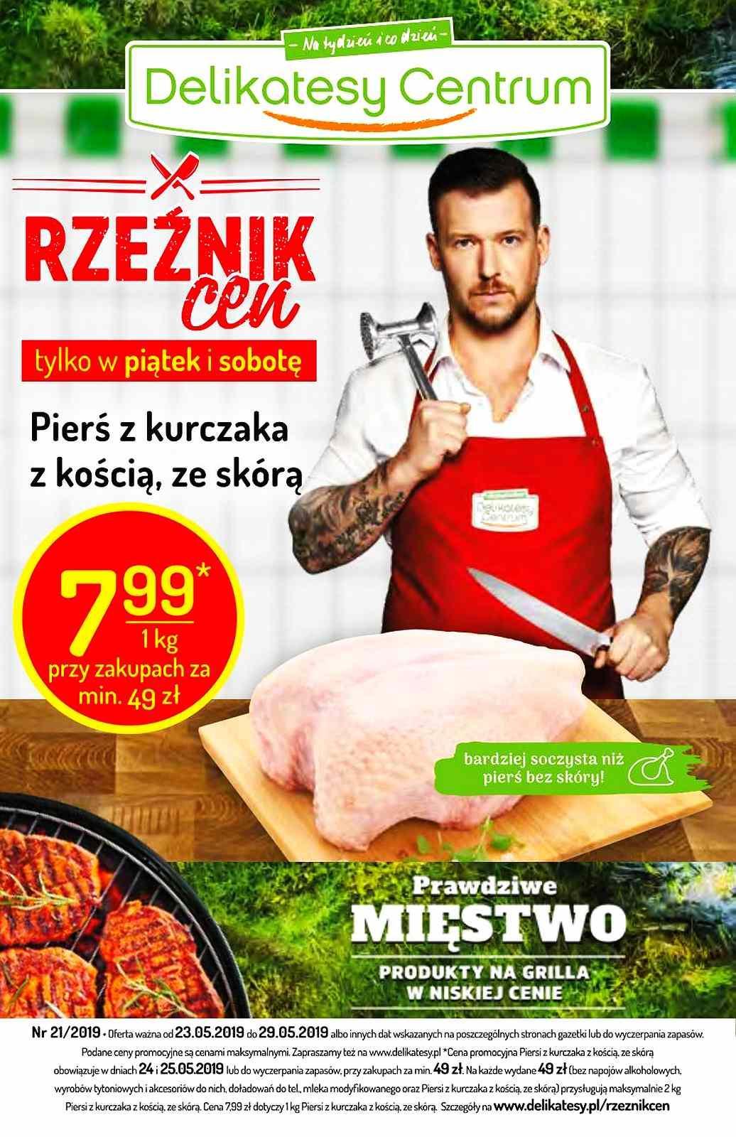 Gazetka promocyjna Delikatesy Centrum do 29/05/2019 str.0