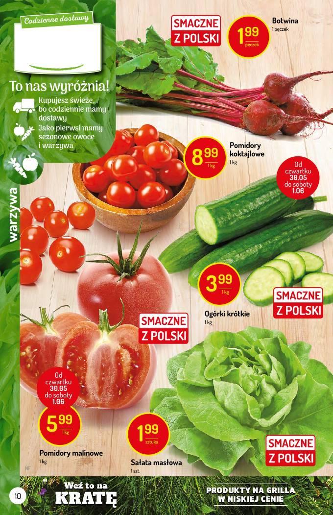 Gazetka promocyjna Delikatesy Centrum do 05/06/2019 str.10