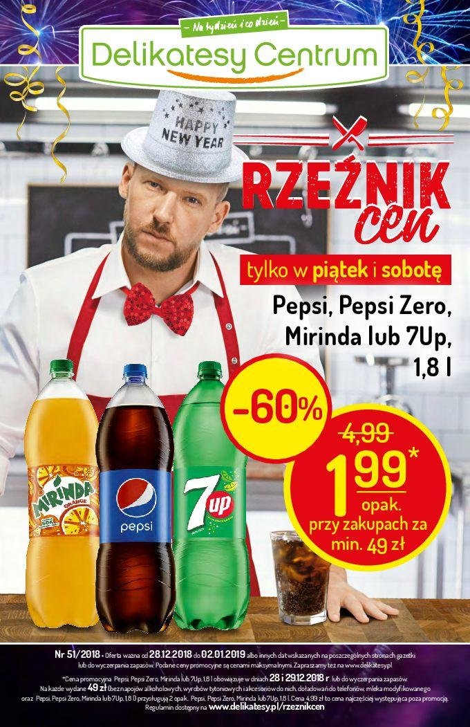 Gazetka promocyjna Delikatesy Centrum do 02/01/2019 str.0