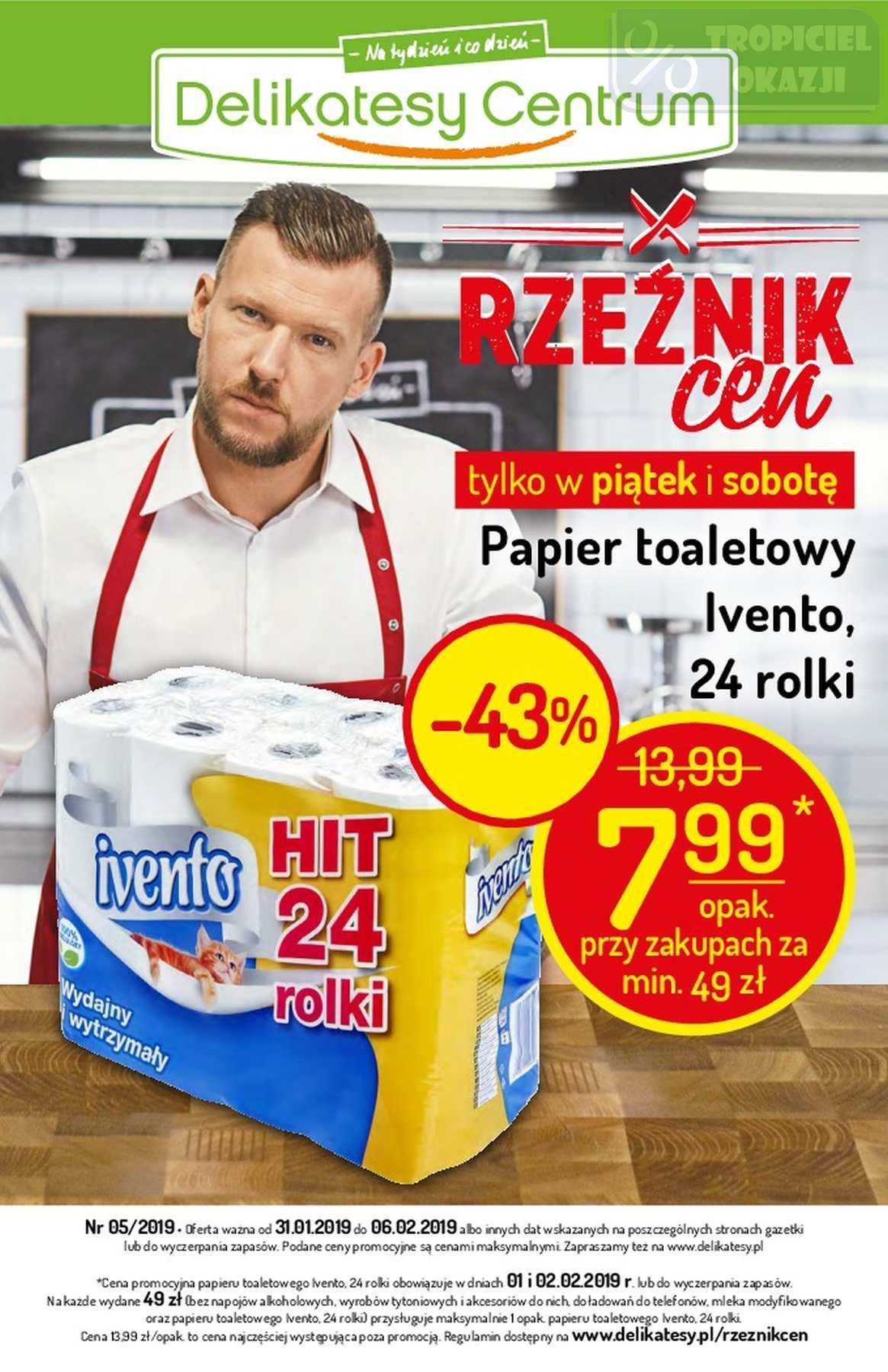 Gazetka promocyjna Delikatesy Centrum do 06/02/2019 str.0