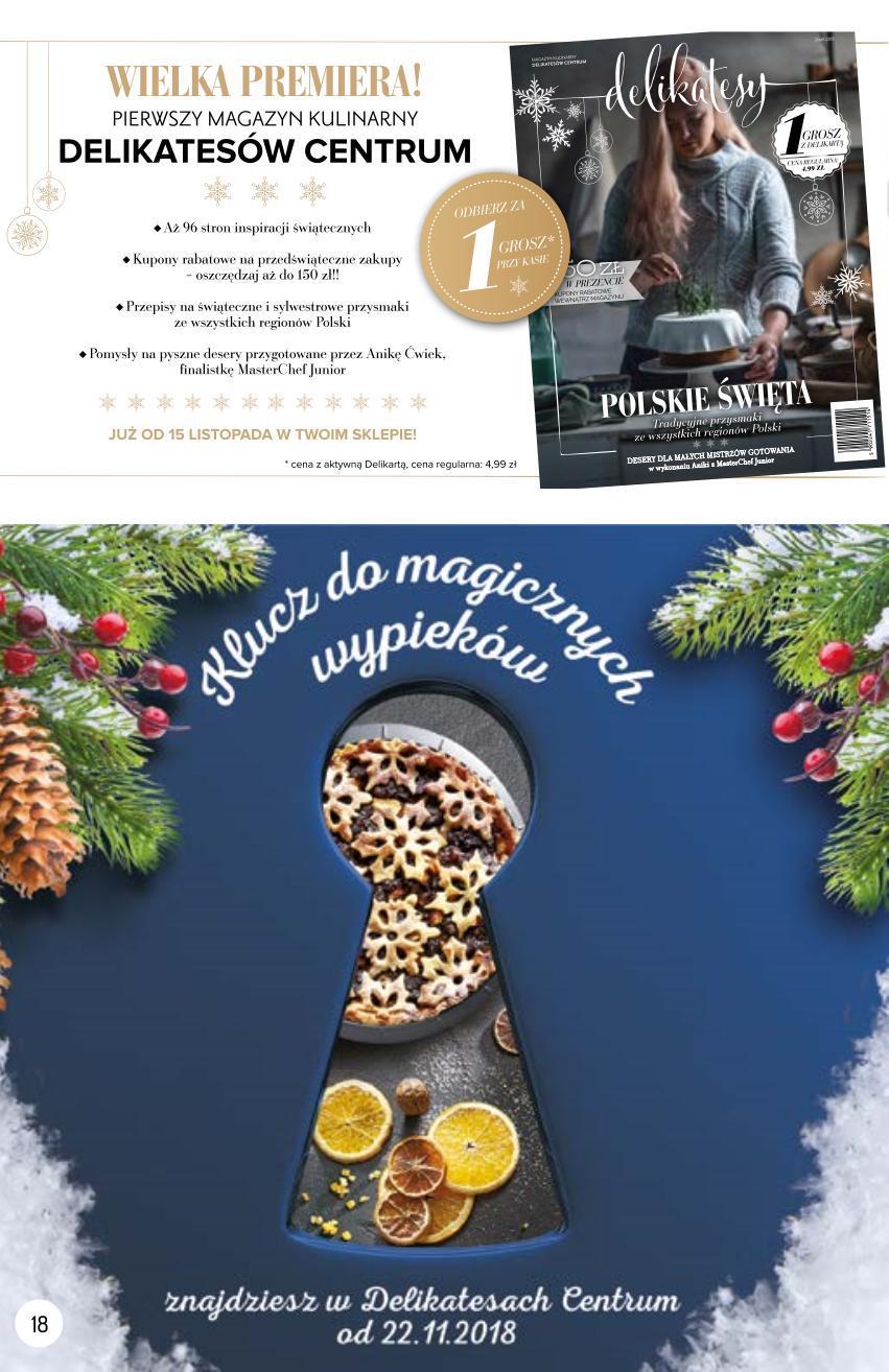 Gazetka promocyjna Delikatesy Centrum do 14/11/2018 str.10