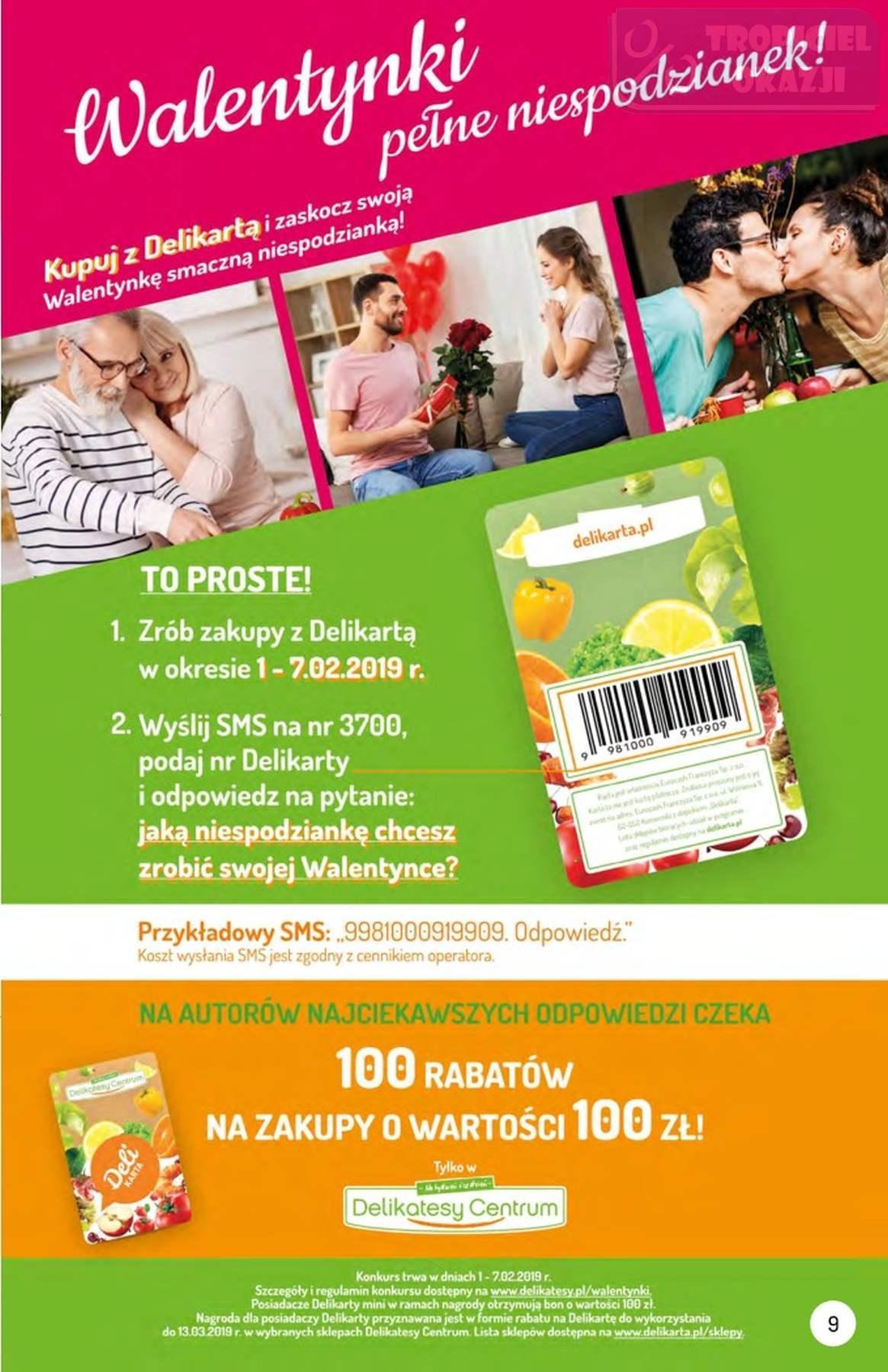 Gazetka promocyjna Delikatesy Centrum do 06/02/2019 str.8