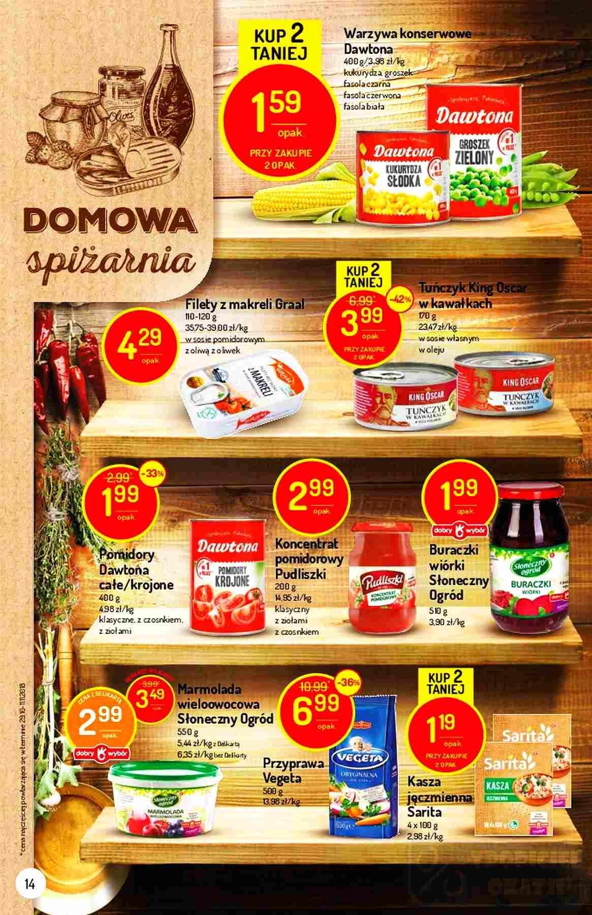 Gazetka promocyjna Delikatesy Centrum do 12/12/2018 str.13