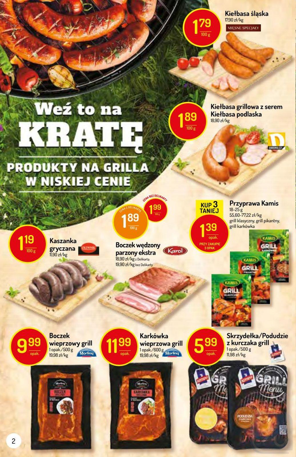Gazetka promocyjna Delikatesy Centrum do 12/06/2019 str.2