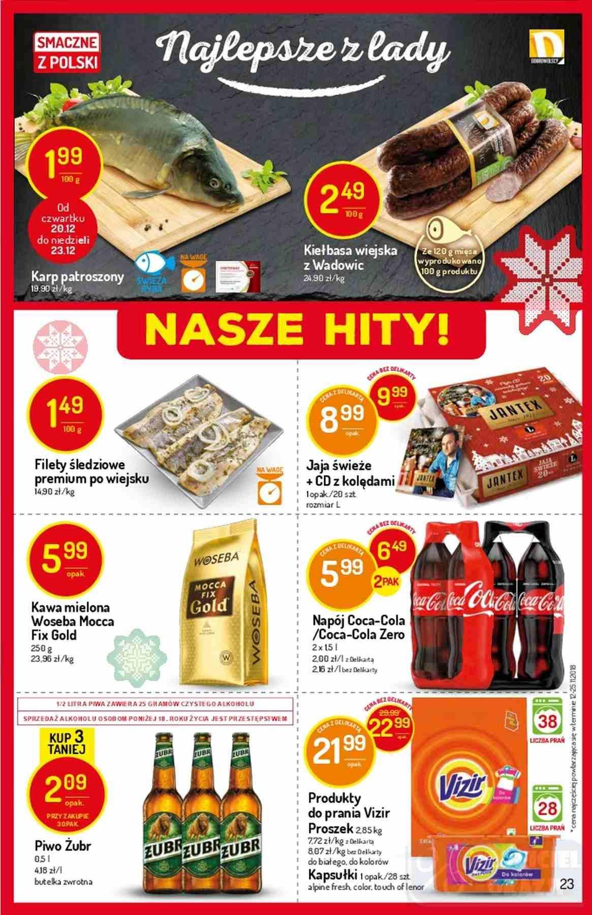 Gazetka promocyjna Delikatesy Centrum do 24/12/2018 str.22