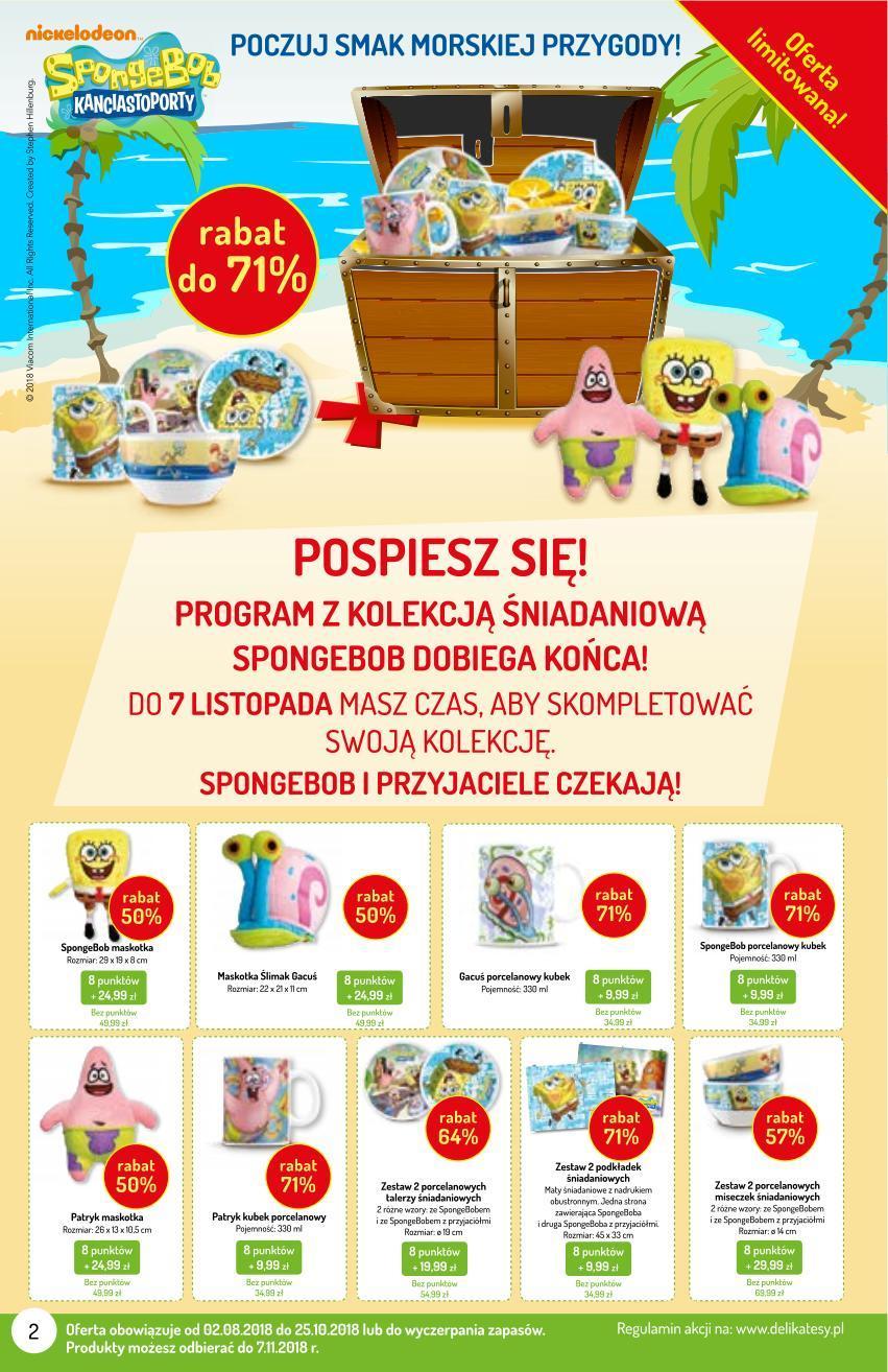 Gazetka promocyjna Delikatesy Centrum do 07/11/2018 str.2