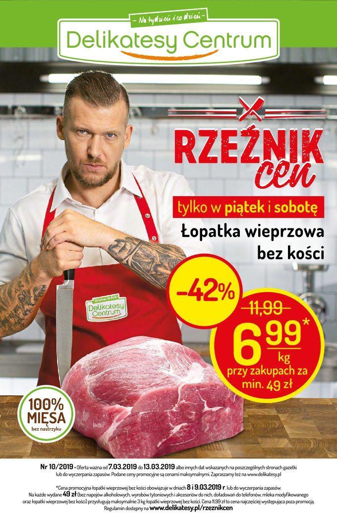Gazetka promocyjna Delikatesy Centrum do 13/03/2019 str.0