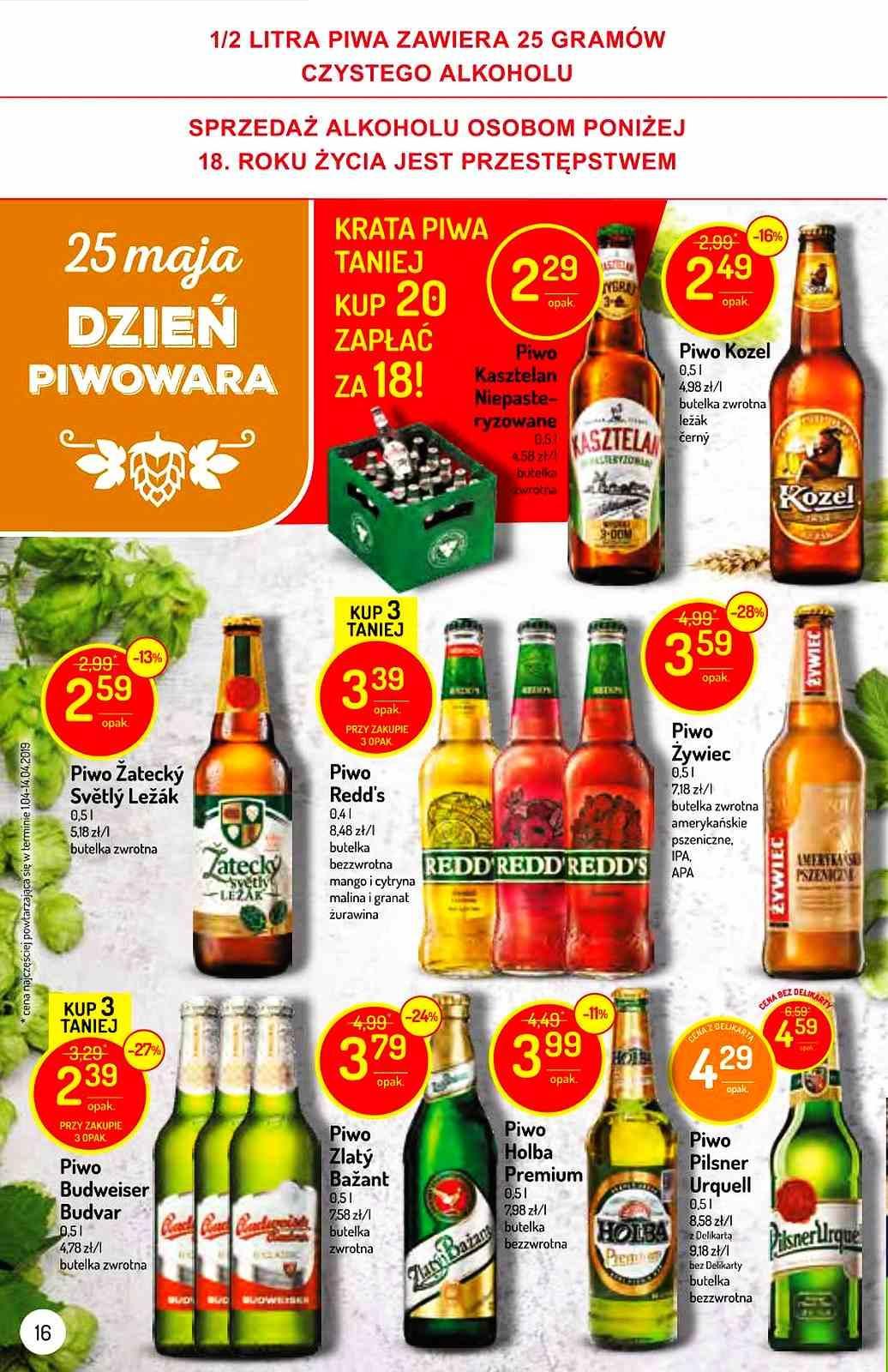 Gazetka promocyjna Delikatesy Centrum do 29/05/2019 str.15