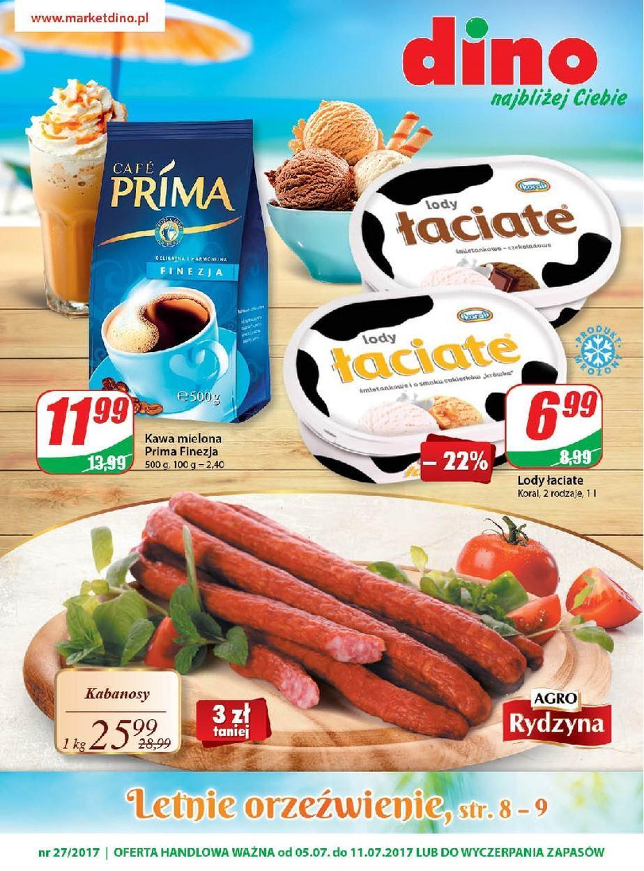 Gazetka promocyjna DINO do 11/07/2017 str.0