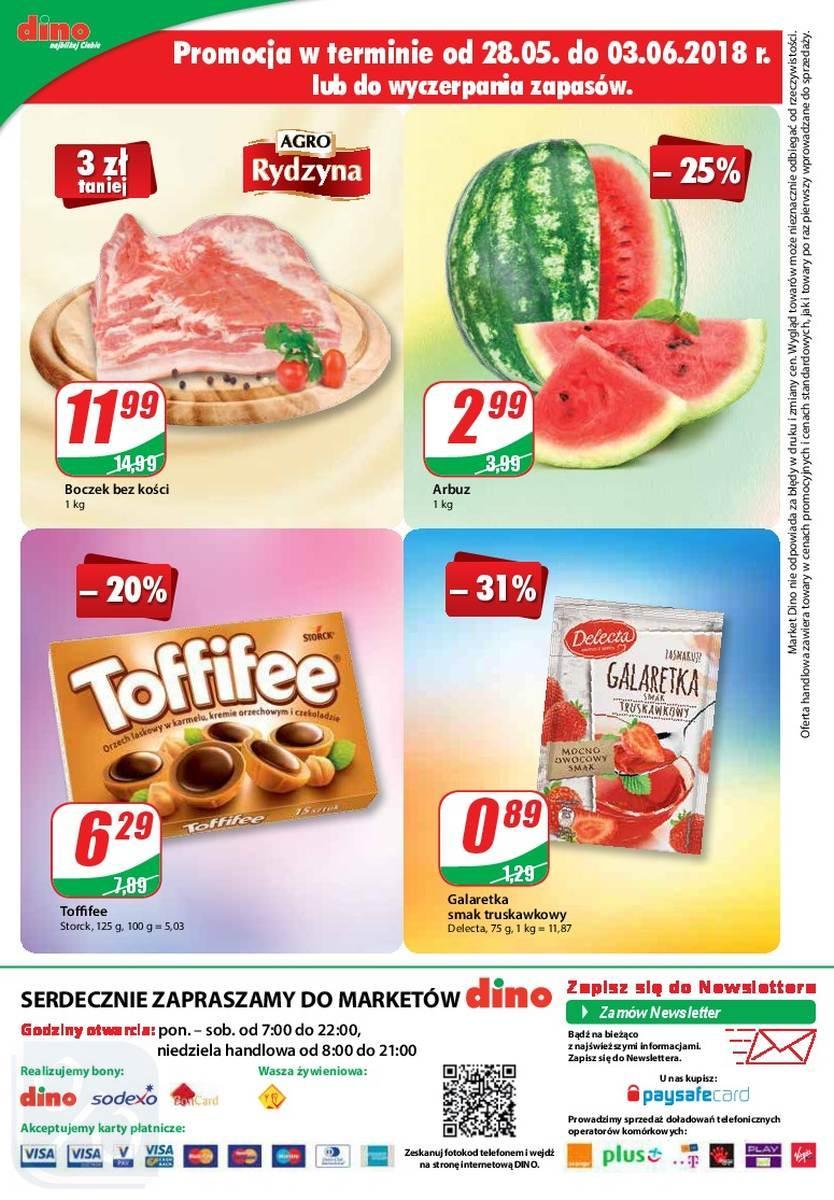 Gazetka promocyjna DINO do 05/06/2018 str.15